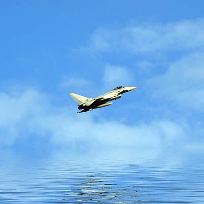 Eurofighter Typhoon Print by Sharon Lisa Clarke