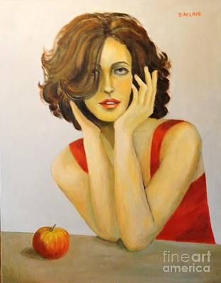 Dagmar Painting - Eva by Dagmar Helbig