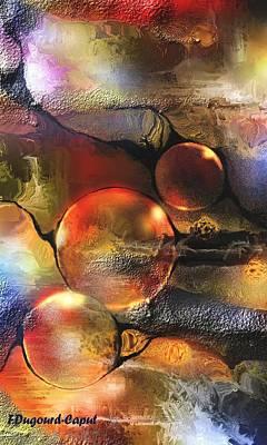 Evanescence Print by Francoise Dugourd-Caput