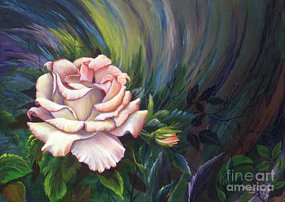 Rose Of Sharon Painting - Evangel Of Hope by Nancy Cupp