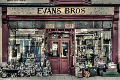 Evans Bros Hardware Emporium Print by Mal Bray