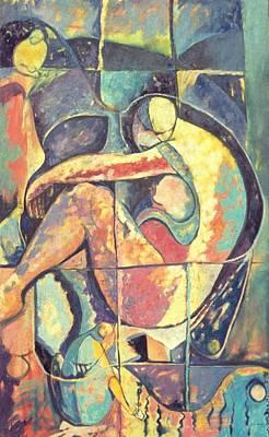 Jamaican Art Painting - Eve by John Powell