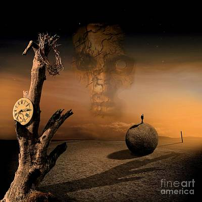 Times Mixed Media - Even Just For One by Franziskus Pfleghart
