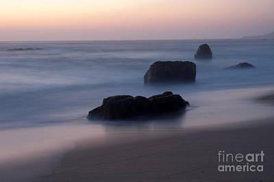 Evening At Beach 3 Original by Catherine Lau