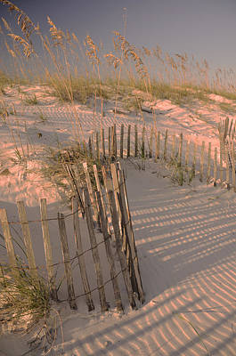 Evening At The Beach Print by Maria Suhr