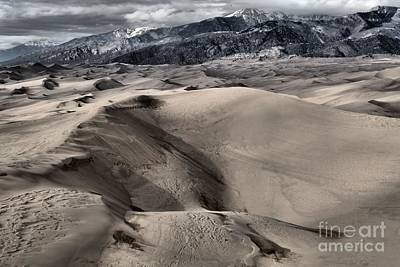 Evening At The Dunes Print by Adam Jewell