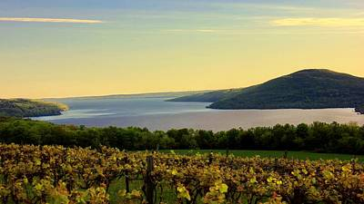Finger Lakes Photograph - Evening Falls by Glenn Curtis