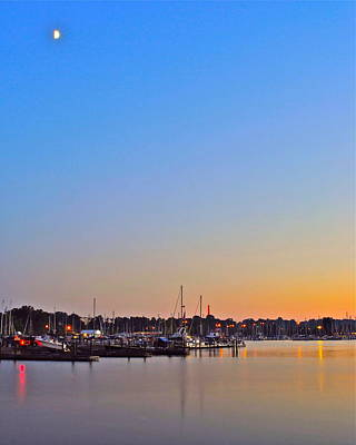 Evening Glow Print by Frozen in Time Fine Art Photography