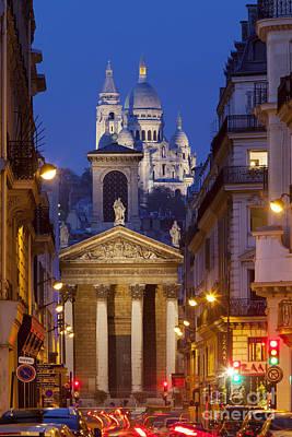 Evening In Paris Print by Brian Jannsen