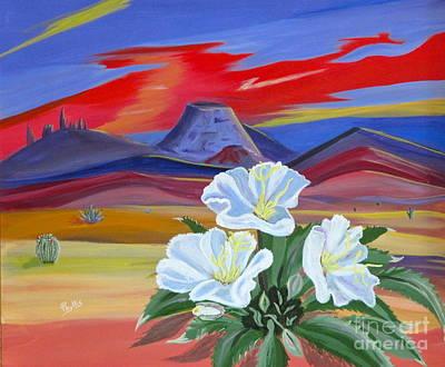 Evening Primrose Original by Phyllis Kaltenbach