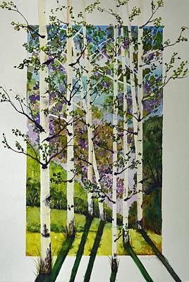 Evening Shadows Original by Terri Robertson