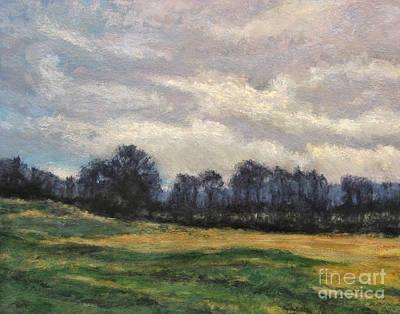 Evening Silhouette Print by Gregory Arnett