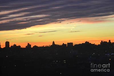 Evening Sky Print by Robert Daniels