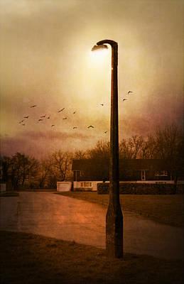 Evening Street Print by Svetlana Sewell