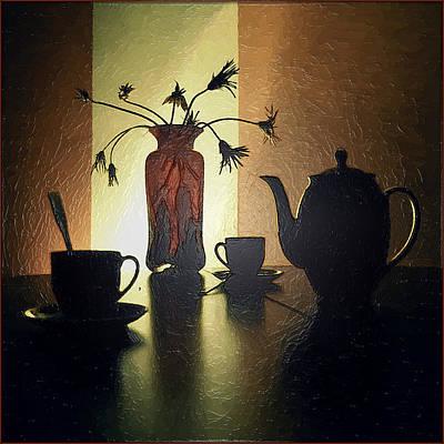 Fruit Tree Art Painting - Evening Tea by Frida  Kaas