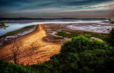 Ocean Photograph - Evening Tide by Bob Orsillo