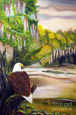 Tolan Painting - Everglades 1 by To-Tam Gerwe