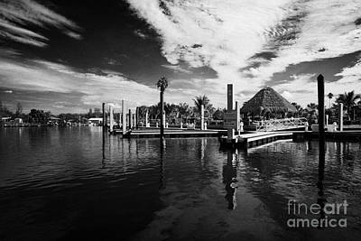 Everglades Isle Marina In The Florida Everglades Usa Print by Joe Fox