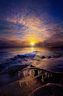 Bluesky Photograph - Every Day Is A Gift Not A Given by Phil Koch