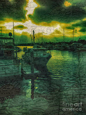 Every Port Print by Cheryl Young
