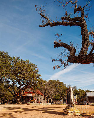 Luckenbach Photograph - Everybody Is Somebody In Luckenbach - Texas Hill Country by Silvio Ligutti