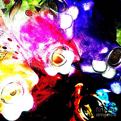 Everyday Abstract 41 Print by Nancy E Stein