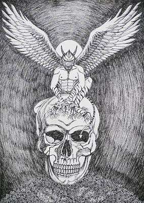 Evil And Goodness Harmonized To Be Me. Original by Benjavisa Ruangvaree