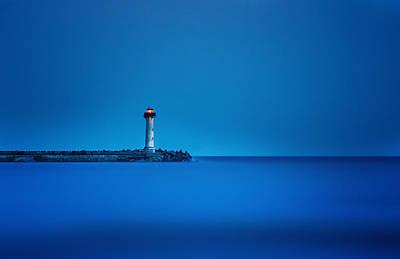 Evksinograd Lighthouse Original by Albena Markova