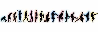 Ape Mixed Media - Evolution by Tony Rubino