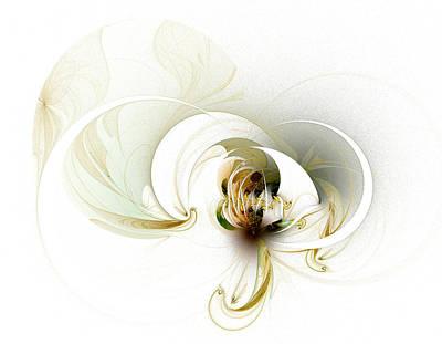 Framed Art Digital Art - Evolving by Amanda Moore