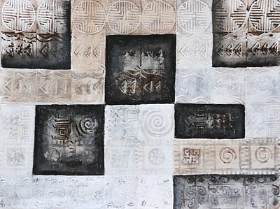 Human Sacrifice Art Painting - Excavation I by Diana Perfect