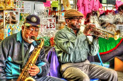 Excelsior Band Horn Players Print by Michael Thomas