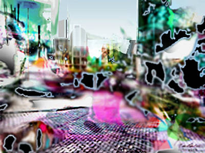 Digital Art - Exhaarlems3c by Immo Jalass