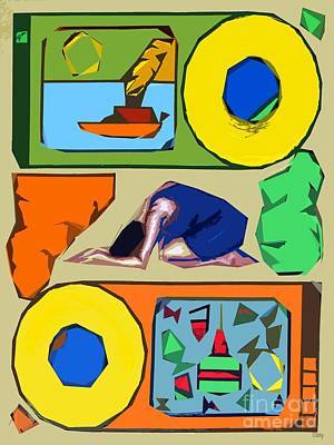 Fine Art Painting - Exhausted by Patrick J Murphy