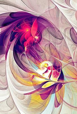 Exhilarated Print by Anastasiya Malakhova