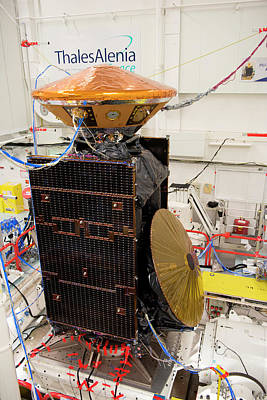 Trace Photograph - Exomars Spacecraft Vibration Testing by European Space Agency/s. Corvaja