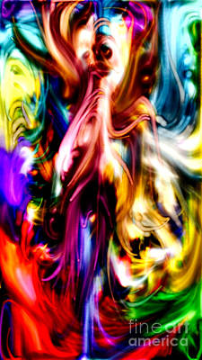 Racism Digital Art - Exorcism Of Pigment by Kim Peto