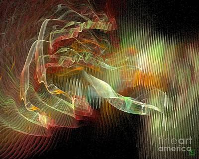 Liander Art Digital Art - Expanding 1 by Jeanne Liander