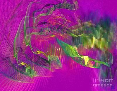 Liander Art Digital Art - Expanding 3 by Jeanne Liander