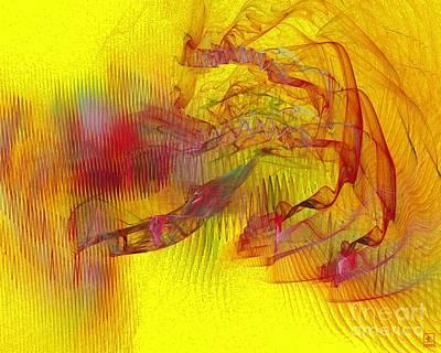 Liander Art Digital Art - Expanding 9 by Jeanne Liander