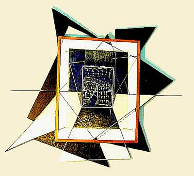 Expanding Graphic Print by Al Goldfarb