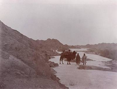 Land Feature Photograph - Expeditionaries At Toghrak-bulak by British Library