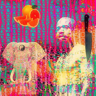 Experimental Digital Collage Print by John  De Sousa