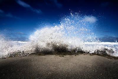 Exploding Seas Print by Mark Andrew Thomas