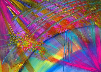 Painting - Explosion Of Color by MelOn Design