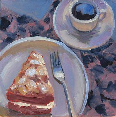 Painting - Expresso Time by Mary Byrom