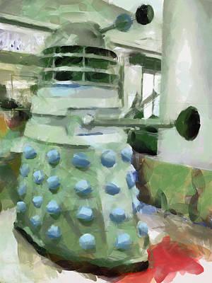 Exterminate Print by Steve Taylor