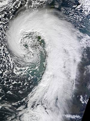 Extratropical Cyclone Print by Nasa Earth Observatory