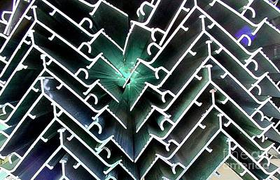 Extrusion Photograph - Extrusions by Ron Bissett