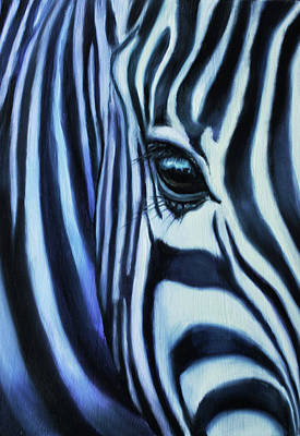 Eye Of Africa Print by Charice Cooper